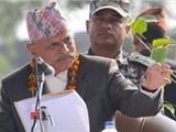 Tổng Thống Nepal Dâng Đèn Hòa Bình Cho Các Nhà Sư Hàn Quốc