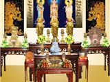 Cách Thức Trang Thiết Bàn Phật, Lễ Phật