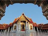 Chùm Ảnh: Ngoại Trưởng Mỹ Hillary Clinton Đi Chân Đất Viếng Chùa Vàng ở Myanmar