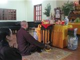 Chùa Pháp Vân Rước Di Ảnh Đại Tướng Về An Vị Nơi Cửa Phật