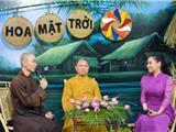 Video: Ca Sĩ, Phật Tử Phi Nhung Trong Chương Trình Hoa Mặt Trời Tại Chùa Hoằng Pháp