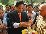 Thủ Tướng Nguyễn Tấn Dũng Thăm Viếng Thánh Tích Bồ Đề Đạo Tràng Ở Ấn Độ