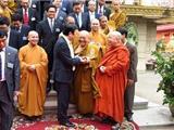 Chủ Tịch Trương Tấn Sang Thăm Vua Sư Lãnh Đạo Phật Giáo Campuchia