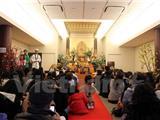 Người Việt Tại Nhật Cầu An Đầu Năm Tại Chùa Nisshinkutsu