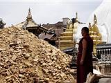 Xót Thương Di Tích Phật Giáo Tan Hoang Sau Động Đất Ở Nepal