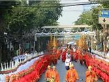 Hàng Trăm Ngàn Người Tham Dự Lễ Trà Tỳ Của Đức Tăng Thống Phật Giáo Thái Lan