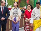 Vợ Chồng Hoàng Tử William Thăm Viếng Vương Quốc Phật Giáo Bhutan
