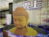 Tượng Phật Làm Từ 10,000 Lon Đồ Hộp Ở Sân Bay Hồng Kông Nhận Giải Thưởng Quốc Tế