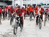Nepal: 200 Tăng Ni Phật Tử Đạp Xe Truyền Thông Điệp Bảo Vệ Môi Trường