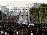 Toàn Dân Thái Lan Khóc Thương Đức Vua Phật Tử Thuần Thành Đầy Tôn Kính Băng Hà