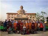 Thầy Thích Tường Quang Và Ngôi Chùa Đại Lộc Trên Đất Phật
