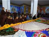 Lễ Hội Khai Tranh Thêu Phật Giáo Kim Cương Thừa Lớn Nhất Việt Nam