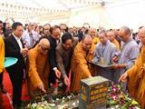 Thái Nguyên: Lễ Đặt Đá Xây Dựng Thiền Viện Trúc Lâm Tây Trúc