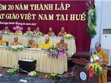Kỷ Niệm 20 Năm Thành Lập Học Viện Phật Giáo Việt Nam Tại Huế