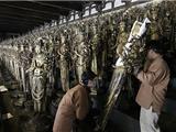 Nhật Bản: Phục Hồi 1000 Tượng Phật Quán Âm Ngàn Tay Sau 45 Năm