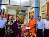 Lãnh Đạo TP. HCM Thăm Chúc Mừng Đại Lễ Phật Đản