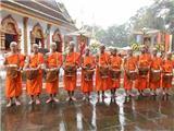 Trang Nghiêm Lễ Xuất Gia Của Đội Bóng Bị Mắc Kẹt Trong Hang Động Ở Thái Lan