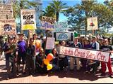 Chùm Ảnh: Hàng Trăm Phật Tử Diễu Hành Chống Biến Đổi Khí Hậu Ở San Francisco