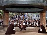 Nhật Bản: Các Nhà Sư Tập Luyện Thỉnh Đại Hồng Chung Chào Đón Năm Mới