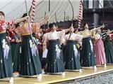 Nhật Bản: 1400 Phụ Nữ Tham Gia Bắn Cung Ở Chùa Nhân Dịp Năm Mới
