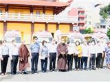 Phật Giáo TPHCM Trao Tặng 10 Xe Cứu Thương Cho Các Bệnh Viện