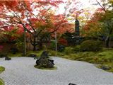 Vãng Cảnh Chùa Entsuin Mùa Lá Đỏ Ở Nhật