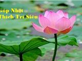 1. Góp Nhặt - Thích Trí Siêu - Khái Niệm Phật