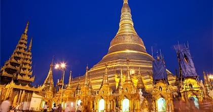 Mưa Lũ Làm Sập Chùa Vàng Ở Miến Điện