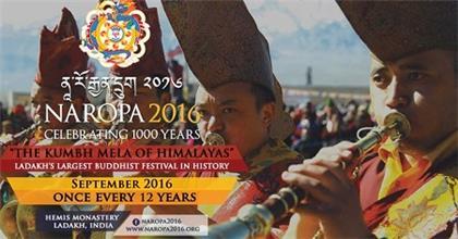 Hàng Trăm Ngàn Người Tham Dự Đại Pháp Hội Phật Giáo 12 Năm Một Lần Trên Núi Himalaya